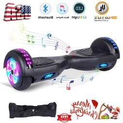 "Hoverboards with Bluetooth and lights 6.5"" Self Balancing El"