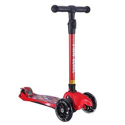 Kick Scooter for Kids, 3 Big Wheels Scooter for Children 4 A