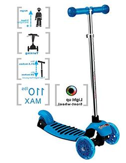 Voyage Sports Kick Scooters for Kids Ages 3-12, Lean 2 Turn,