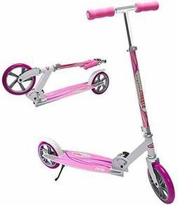 "ChromeWheels Kick Scooter, Deluxe 8"" Large 2-Wheels Wide Dec"