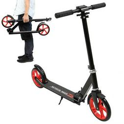 Folding Kick Scooter with 200 Big Wheels Lightweight Outdoor