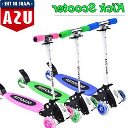 Kick Scooter for Kids 2-16 Age Boys & Girls - Deluxe 3 Wheel