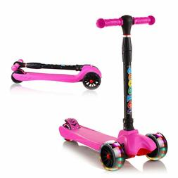 Kick Scooter for Kids 3 Wheel Scooter for Toddlers Girls & B