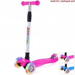 BELEEV Kick Scooter for Kids 3 Wheel Toddlers Girls & Boys,