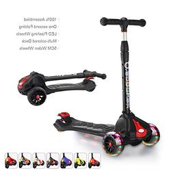 XJD Kick Scooters for Kids Toddler Scooters Adjustable Heigh