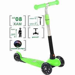 Kick Scooters Scooter For Kids Ages 2- 6 , 3 Wheel Boys And