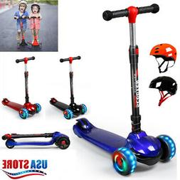 kid scooter kick scooter deluxe for age