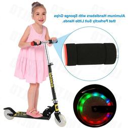 Kid Scooters Foldable Mini Kick Scooter Aluminum Deluxe Ligh