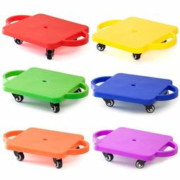 Kids Gym Class Plastic Scooter Board with Safety Handles