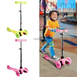 Kids Kick Scooter 3 Wheels Toy for Boys Girls Razor Outdoor