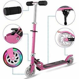 Kids Kick Scooters Scooter For Boys Girls Age 3-8 2 Wheel Fo