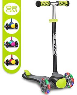 GOMO Kids Scooter 2-5 Years Old Adjustable Height Kick Scoot