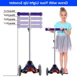 Kids Scooter Deluxe - Age 3-17 Adjustable Kick Scooters Girl