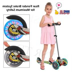 Kids Scooter Deluxe for Adjustable Kick Scooters Girls Boys