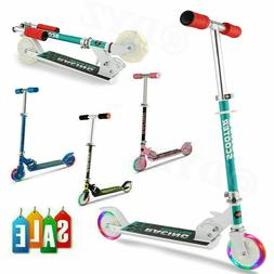 Kids Scooter Deluxe for Age 3-8 Adjustable Hight Girls Boys