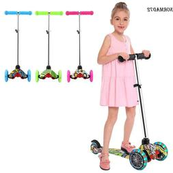 Kids Scooter for Age 3-12 Adjustable Kick Scooters Girls Boy