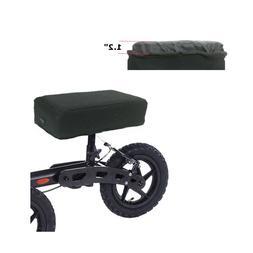 "Knee Scooter Seat Cover Walker Knee Pad 1.2"" Foam Paddi"
