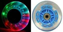 L.E.D. Scooter Wheels with ABEC 9 Bearings for Razor Scooter