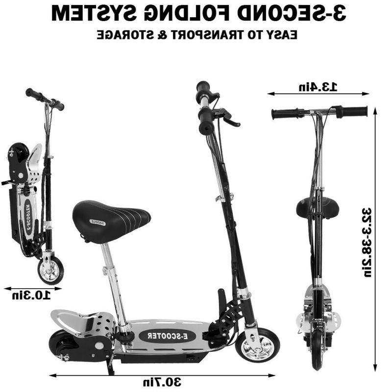 120W Scooter Foldable Seat