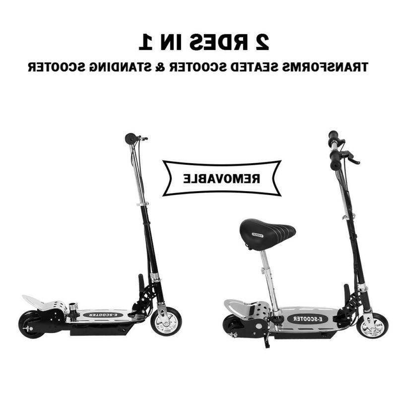 120W Electric Foldable With Handlebar Seat