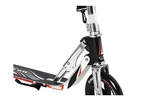HUDORA 14724 Kick 2 Big PU Wheels 205 Adjustable Deck