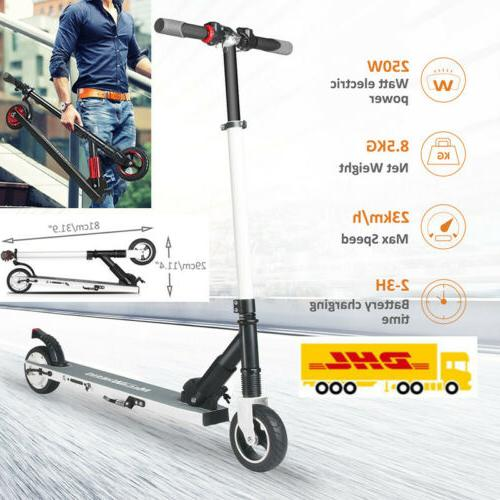 250w high speed folding adult electric kick