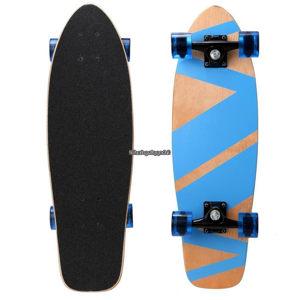 """27"""" Scooter Cruiser Wood Youth"""