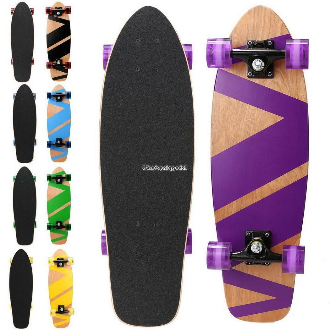 Style Skateboard Wood Children