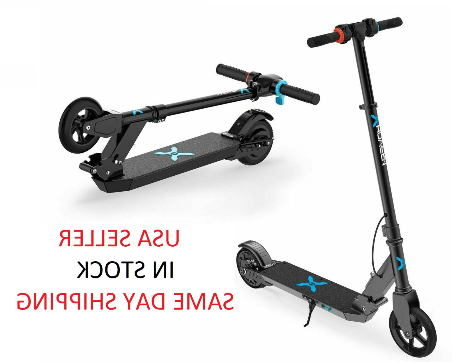 2x hover 1 electric folding scooters transport