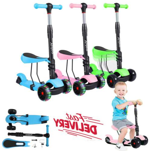 3 in 1 kick children scooter