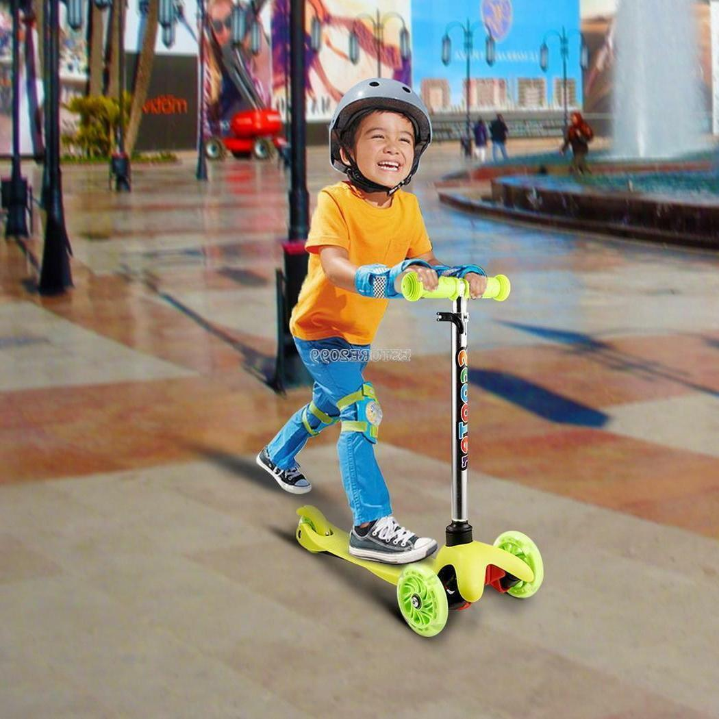 3 Wheels Scooter Skate Toddler Toy Play Free