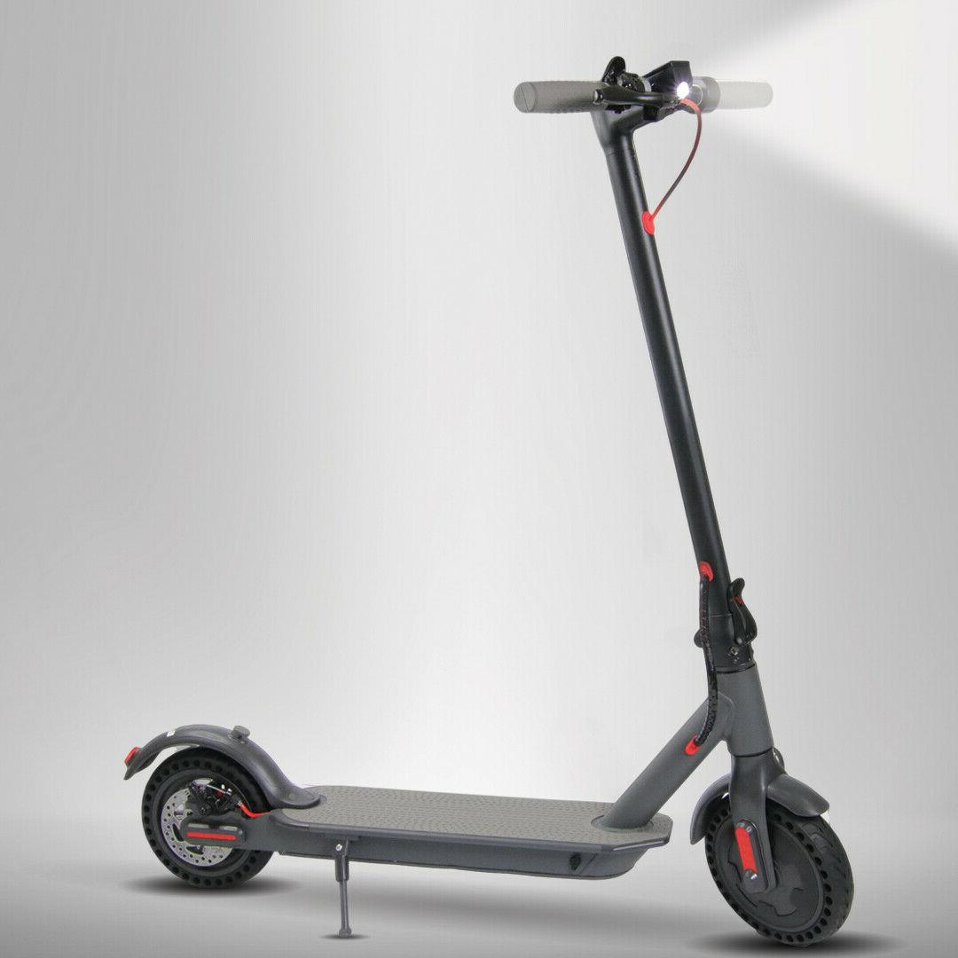 300W E-Scooter Lightweight Folding Electric LED Light LCD Dispaly