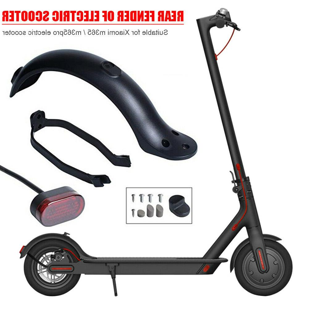 3x electric scooter rear fender support taillight