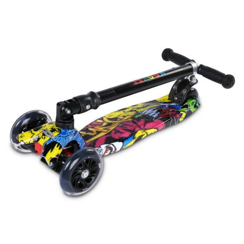 US for Age Scooters Girls Boys Wheels LED
