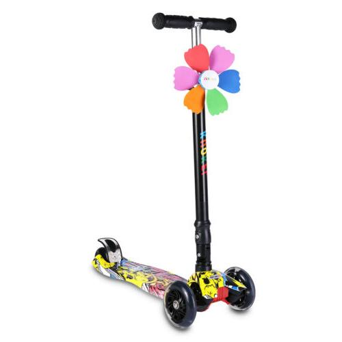 4 Kids Scooter Child Toddlers Exercise Adjustable Height US