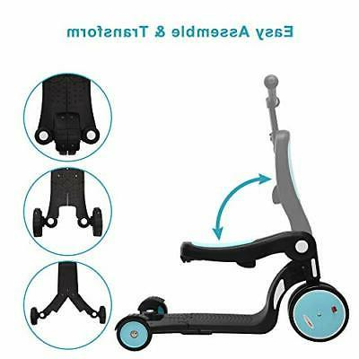 ChromeWheels Scooter for Deluxe Transforming Scooters