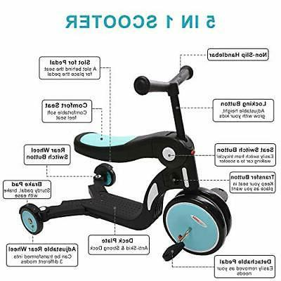 ChromeWheels in Scooter for Transforming Kick Scooters