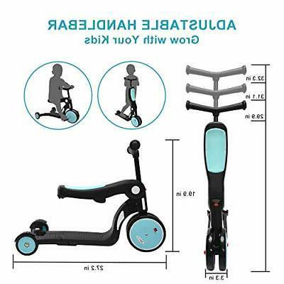ChromeWheels Scooter Transforming Kick