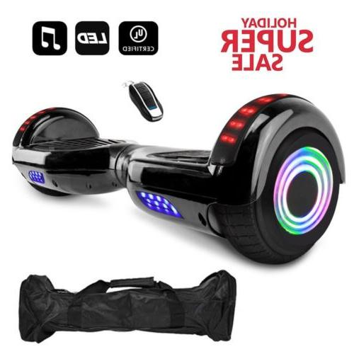 """6.5"""" 2-Wheels Scooter Hoverboard Hoover LED"""