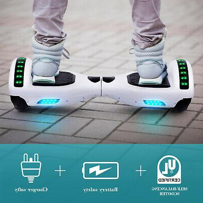 "6.5"" Bluetooth Hoverboard Light UL2272 nobag"