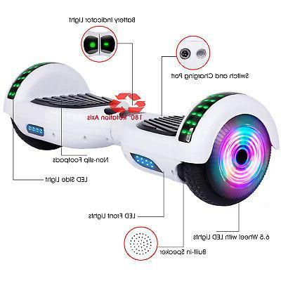 "6.5"" Bluetooth Self Scooter Light UL2272"