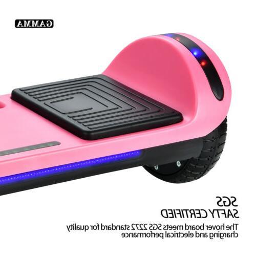 """6.5"""" Electric Hoverboard Speaker LED Self Scooter Bag"""