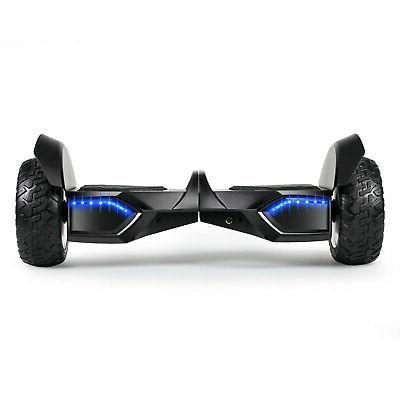 """8.5"""" Bluetooth Hoverboard Self Balancing Electric Scooter Without Kid"""