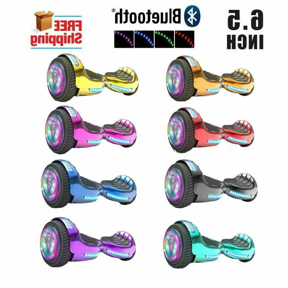 6 5 hoverboard bluetooth speaker led star