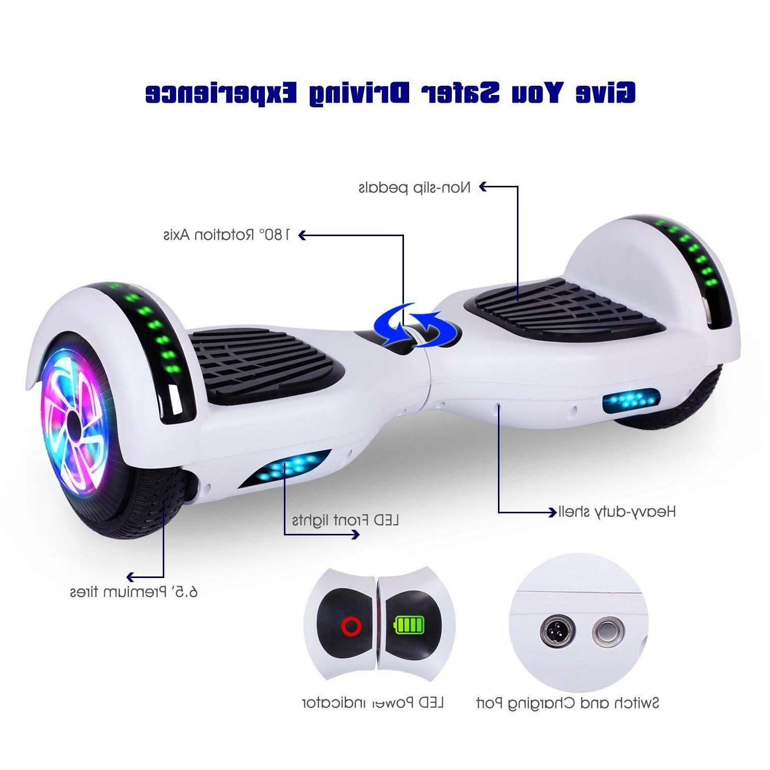 "6.5"" Bluetooth Hoverboard Electric Self"