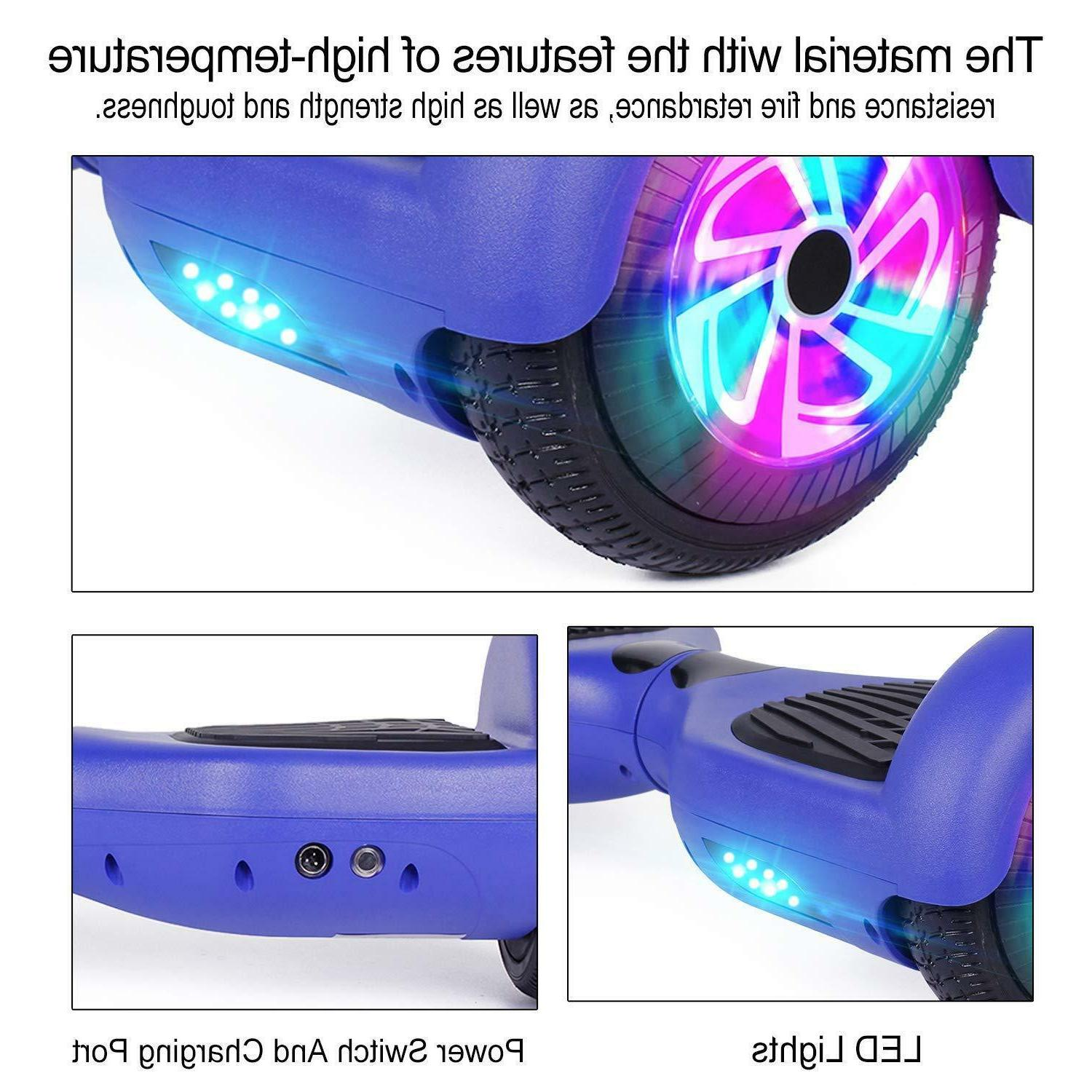 "6.5"" Hoverboard Electric Self Light Scooter"