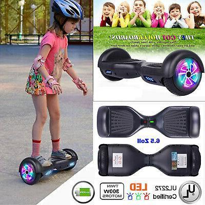 "6.5"" Hoverboard Wheel Self Scooter Black"