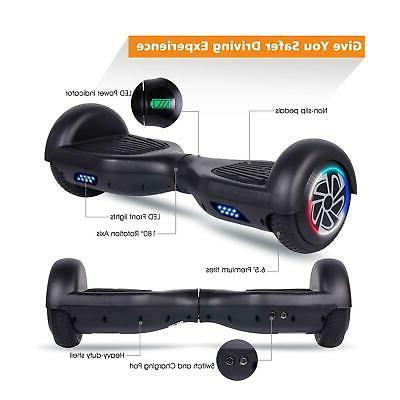 "6.5"" LED Wheel Balancing Scooter UL"