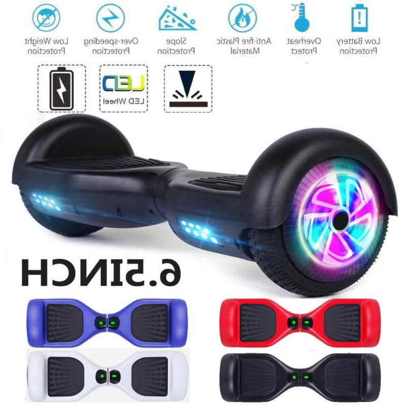 6 5 led wheels hoverheart hoover boards