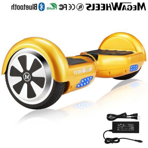 Megawheels 2 Wheels Gold Self Balancing